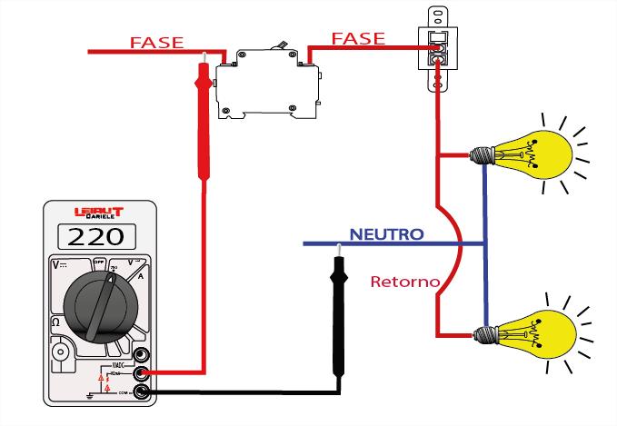 Circuito serie p gina 3 leiaut dicas for Fase e neutro colori